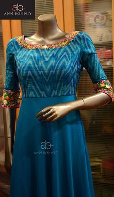 Be it for office wear, casual outings or college dress code, kurti's have become an integral part of every Indian Salwar Designs, Kurti Neck Designs, Kurta Designs Women, Dress Neck Designs, Kurti Designs Party Wear, Blouse Designs, Salwar Pattern, Kurta Patterns, Dress Patterns