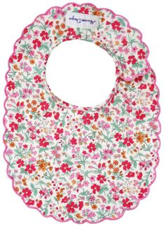 Alimrose Scallop Bib in Flower Bouquet Design Baby Online, Baby Boutique, Cool Baby Stuff, Design Crafts, Bouquet, Holiday Decor, Floral, Flowers, Gifts