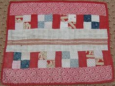 The Humble Stitcher: Another Antique Doll Quilt