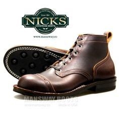 :: All SALE Boots Monopoly - Made in USA :: NICKS BOOTS AT MANSWAY