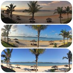 Sunrise, Midday and Afternoon at Lake San Martinho, Praia de Bilene. Mozambique. Photo by Saajida Akabor (http://saajida.co.za/)