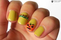 Nailart-Dienstag - Halloween