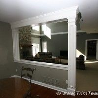 Half Wall Room Divider Ideas | Half Wall Ideas Columns http://trimteamnj.com/gallery/doorsways_and ...