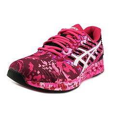 ASICS Womens Fuzex PR running Shoe Pink GlowWhitePink Ribbon 7 M US >>> You can find more details by visiting the image link. (This is an affiliate link)