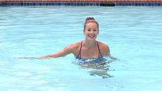 Summer Dream Workout - in a Pool!: Cool off while you workout, but skip the crawl and backstroke.