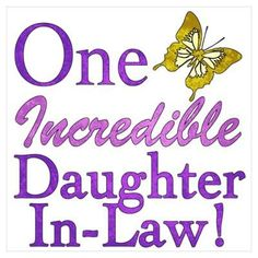 Daughter In Law ~ --- We are SO blessed to have a daughter-in-law that is good to our son, is a great mother, and is caring and accepting of the both of us. Description from pinterest.com. I searched for this on bing.com/images