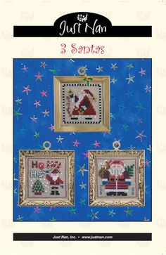 Just Nan cross stitch patterns and kits