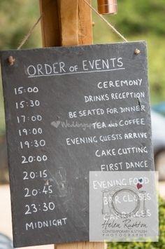 Hampshire Slate sopley mill wedding sign #sopleymill