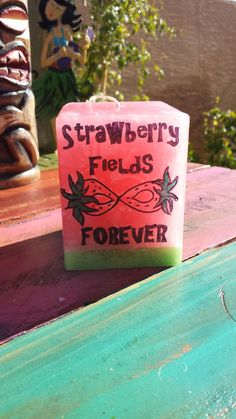 Hey, I found this really awesome Etsy listing at https://www.etsy.com/listing/216574139/hippie-strawberry-fields-forever  #hippie #candle #boho #hipster #decor