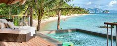 Pangulasian Island Resort, Luxury Hotel in El Nido, Philippines Luxury Beach Resorts, Luxury Pools, Best Resorts, Beach Hotels, Hotels And Resorts, Voyage Philippines, Les Philippines, Philippines Beaches, Philippines Travel