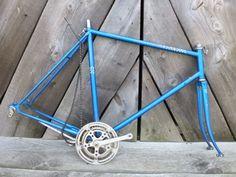 Vintage Peugeot Carbolite 103 Road Bike Bicycle Frame Cranks Kickstand Chain #Peugeot