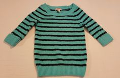 Women's Arizona Blue 3/4 Sleeve Fuzzy Sweater Size XS Juniors (or 12 Girls) #256 in Clothing, Shoes & Accessories, Women's Clothing, Sweaters   eBay