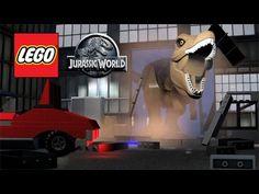 LEGO Jurassic World Trailer - Tour of Jurassic World