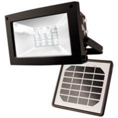 Super Bright 12-LED Outdoor Solar Flood Light