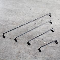 【無垢鉄家具】《ハンガー》ファッションバーアイアン-002(鉄部蜜蝋焼きこみ仕上げ) | MUKU-MO