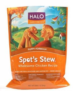 Halo Spot's Stew Natural Dry Dog Food, Puppy, Wholesome Chicken Recipe, 10-Pound Bag ** You can find more details by visiting the image link.