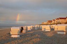 Was für eine Aussicht am Strand von Wangerooge!