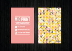 Unique Business Card Design by MioPrint