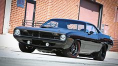 1970 Plymouth Barracuda Pro-Touring. Awesome American Muscle!