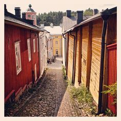 Porvoo - old town, Finland