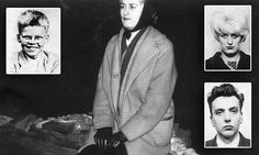 Smirking Moors murdered Myra Hindley poses in her 'killing gloves' Moors Murders, Black Leather Gloves, Night Photos, Coat Patterns, Partners In Crime, Macabre, Poses, Pictures, Couples