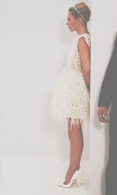 lacy wedding dress?