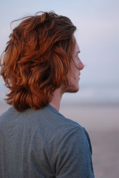 Don't know who that redhead is, but he deserves a place on my board. Love, love, love the hair!