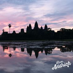 Millions of people travel to Siem Reap each year to see the colourful sunrise over Angkor Wat and there's a reason why - the experience itself leaves you absolutely breathless. ~ #Travel