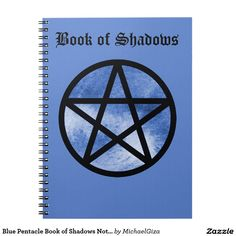 Blue Pentacle Book of Shadows Notebook