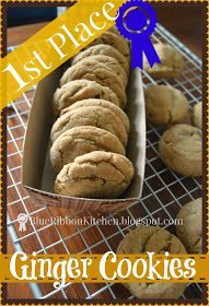 Blue Ribbon Kitchen: FIRST PLACE GINGER SNAPS | A Special Thank-You