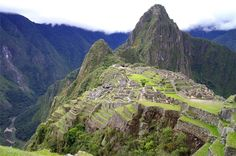 Machu Picchu - full of mystery and beauty.  And I'm so proud of my parents for making the hike with me!