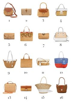 15 stylish woven bag outfits for the summer