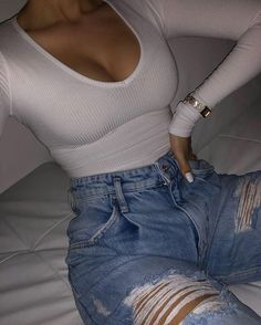 Boujee Outfits, Baddie Outfits Casual, Cute Swag Outfits, Cute Comfy Outfits, Teen Fashion Outfits, Simple Outfits, Look Fashion, Pretty Outfits, Stylish Outfits