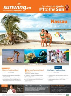 Experience all inclusive vacations in Nassau. Book now! #traveltips #vacation #NassauBahamas