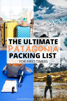 Patagonia packing list   a complete packing list for Patagonia with the items you should definitely have in your suitcase for the trip. Explore what to wear to Patagonia, what to pack for Patagonia and what to bring for hiking in Patagonia, as well as just exploring.   #patagonia #torresdelpaine #losglaciares #chile #argentina #packinglist   packing for Patagonia   packing list Patagonia   packing for Patagonia summer