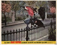 Disney's Mary Poppins Lobby Cards UK Front of House Set Julie Andrews