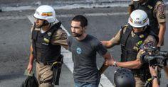 PM prende 10 em protesto contra Copa em Belo Horizonte; ato é encerrado - 14/06/2014