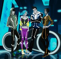 God, I love TRON: Uprising. Robert Valley did a hell of a job with the character designs, and the writing. Tron Art, Character Concept, Concept Art, Science Fiction, Tron Uprising, Kung Fury, Gothic Fantasy Art, Tron Legacy, Cool Monsters