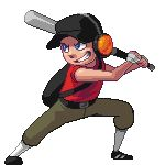 Team Fortress 2 - Scout     Pixel Artist: medli20    Source: kmitchelldraws.tumblr.com