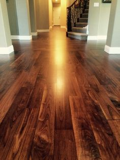 Engineered Floor Refinish