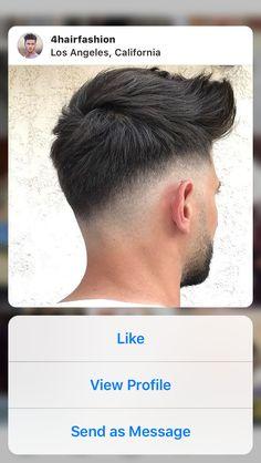 peinado Herrenfrisuren 2019 - Popular Men's Haircuts and Hairstyles For Men Medium Hair Cuts, Short Hair Cuts, Medium Hair Styles, Hair And Beard Styles, Curly Hair Styles, Trendy Mens Haircuts, Trendy Haircut, Popular Mens Hairstyles, Gents Hair Style