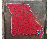 State String Art, Custom State String Art, State Pride Art