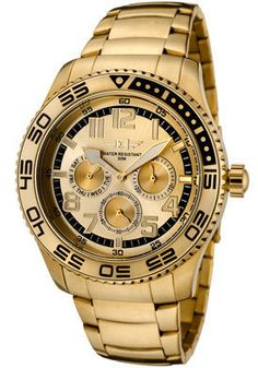 I by Invicta Watch Men's Gold Dial...