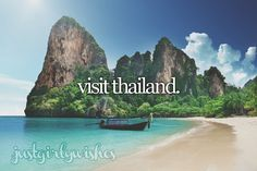 Bucket List: Visit Thailand