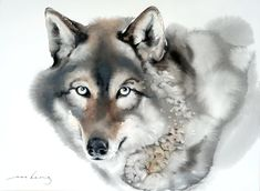 Buy Paintings Online, Artwork Online, Buy Art Online, Online Painting, How To Draw Fur, Tinta China, Watercolor Drawing, Animal Fashion, Animal Drawings