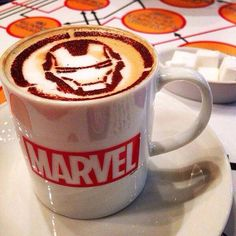 I know the mug is basic but look at the iron man