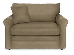 "Leah Supreme Comfort™ Twin Sleep Chair by La-Z-Boy (width 54""  Depth 20.5  height 21"