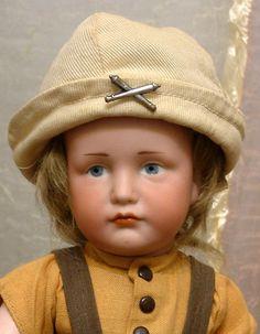 "BEYOND Adorable 13"" Kammer & Reinhardt 114 'Hans' Character Boy from kathylibratysantiques on Ruby Lane"