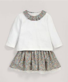 Liberty Emilia's Flower T-Shirt & Tutu Set