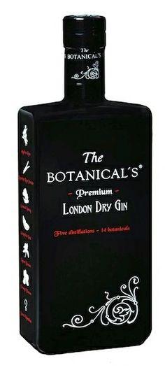 This! Need for my chynnantonnyx!                           The Botanical's London Dry Gin,  England